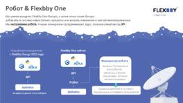 Робот & Flexbby One. Интеллектуальные роботы на службе у банков